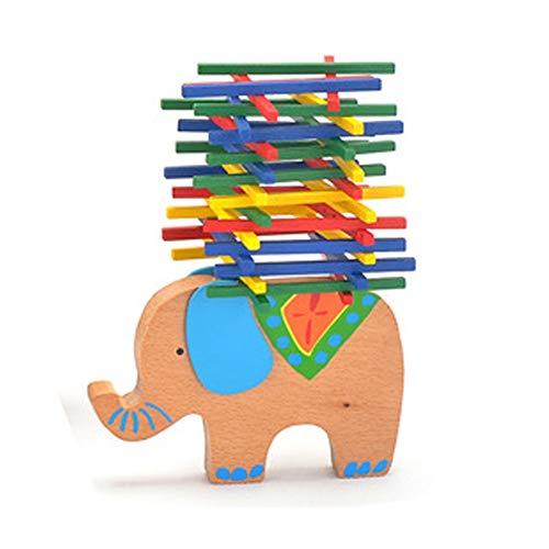 Apilables Parte Balance Parte Sticks apilables Elefante