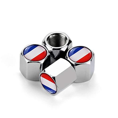 Tapa de la válvula del neumático del neumático de la rueda del automóvil Emblema de la válvula de la válvula del neumático del emblema de la válvula de la válvula del tallo para los accesorios de Hyun