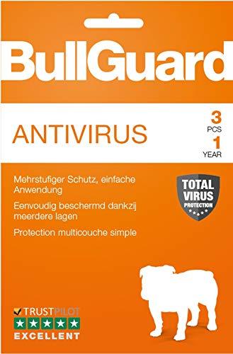 BullGuard Antivirus 2018 - Abonnement 1 an / 3 appareils [Code Jeu ]
