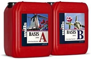Mills Nutrients Basis A&B 5 Liter Set