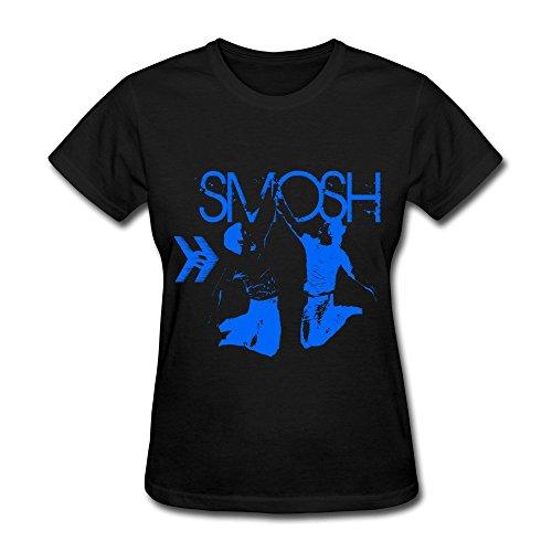 Nana Women's T-Shirts Smosh Comedy Size XL Black