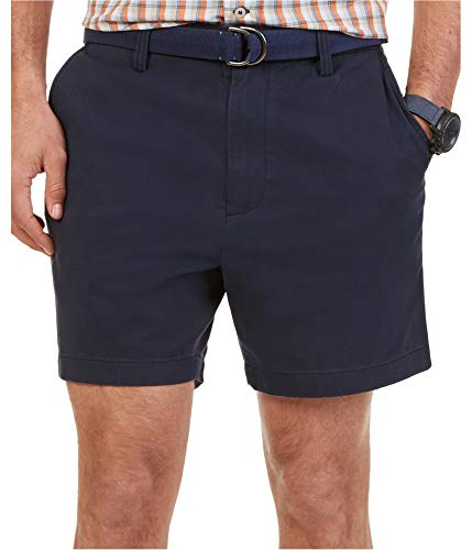 Nautica Men's Flat Front Short, True Navy, 42W