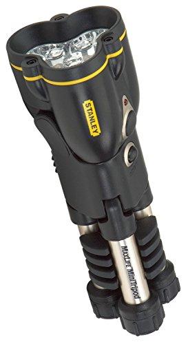MaxLife Mini Tripod LED Flashlight Three AA Batteries Black/Yellow