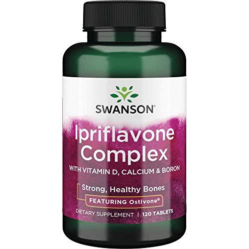 swanson premium bone supplements Swanson Ipriflavone Complex with Ostivone 120 Tabs