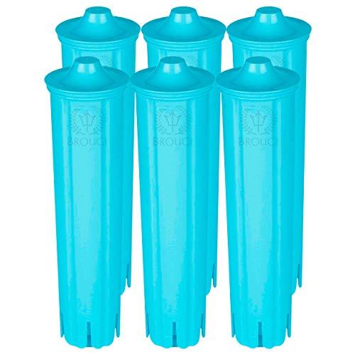 6 x Wasserfilter für JURA CLARIS BLUE Filterpatrone ENA 3, 5, 7, 9 Impressa A5, A9, C50, C55, F7, F8, J5, J7, J9, J9.2, J9.3, J9.4, J80, J85, Z7, Z9, Giga 5, Micro 1, 5, 8, Jura A1, A7, C60