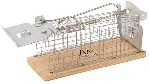 Gardigo 62351 - Souricière Souris Sans Tuer; Piège à Souris Vivants; Humain et Réutilisable; Mouse Trap Intelligent; 15 x 6 x 7,5 cm