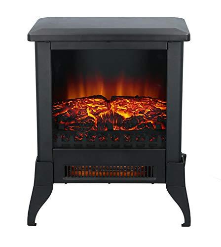 Classic Fire Elektrokamin Verona - Elektrischer Heizung Kamin mit LED - Deko Kamin mit Flammeneffekt - 1800-2000W