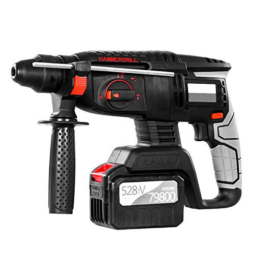 528TV 6.0Ah elettrico ricaricabile Brushless Cordless Rotary Hammer Drill Drill Impact