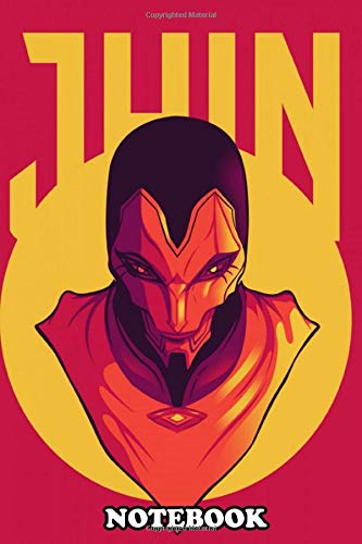 Notebook: League Of Legends Jhin Artwork Jhin Is An Adc Champion , Journal for Writing, College Ruled Size 6' x 9', 110 Pages