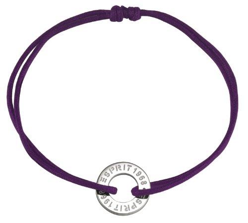 ESPRIT Damenarmband ABD S925 Sweet Little Celebration 18+2cm aubergine 4440722