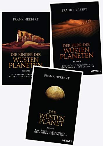 Frank Herbert Dune Der Wüstenplanet Reihe (Heyne Verlag)