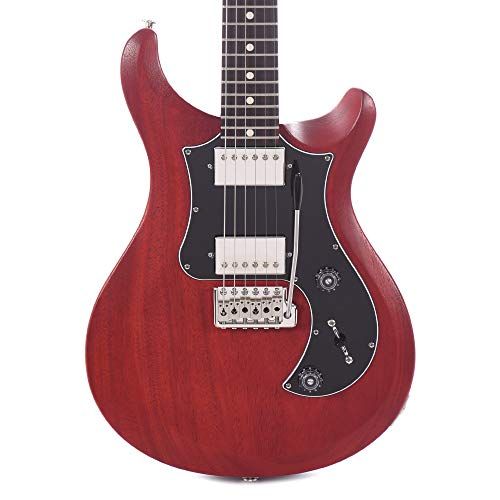 PRS S2 Standard 24 Satin Electric Guitar (Vintage Cherry)
