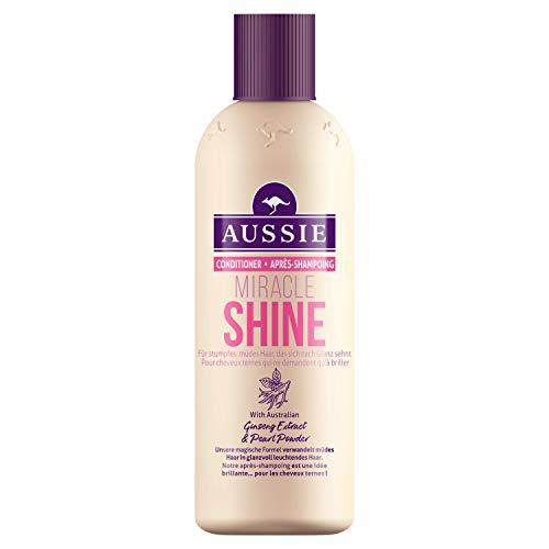 Aussie Miracle Shine Conditioner für stumpfes, glanzloses Haar, 1er Pack (1 x 250 ml)