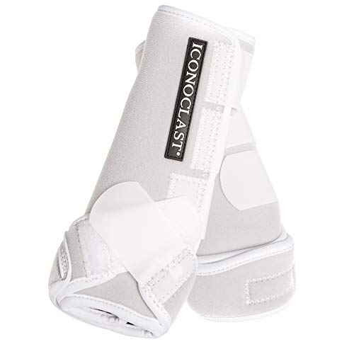 Iconoclast Front Orthopedic Support Boots MED Black