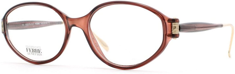 Gianfranco Ferre 442 3UB Brown Authentic Women Vintage Eyeglasses Frame