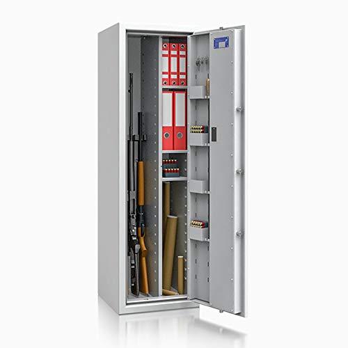 Waffenschrank Waffentresor EN 1143-1 Klasse 0 ECBS 4 Waffenhalter + Regalteil