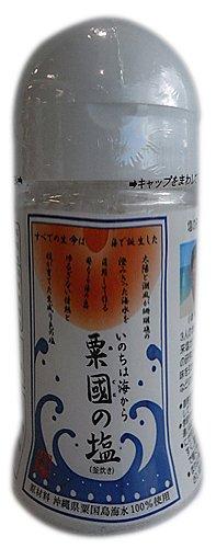 沖縄海塩研究所 粟国の塩 粟国の塩 釜炊き 100g ボトルタイプ