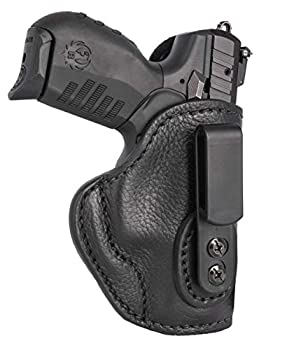 1791 GUNLEATHER Ultra Custom Leather Holster for Ruger Walther S&W MP Keltec CZ and Kahr Pistols - IWB CCW Holster - Memory Lock Right Handed Leather Gun Holster