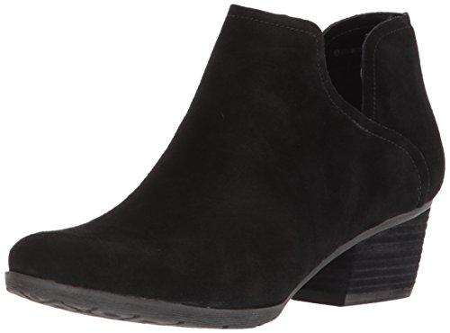 Blondo Women's Victoria Waterproof Ankle Boot, Black Suede, 7.5 M US