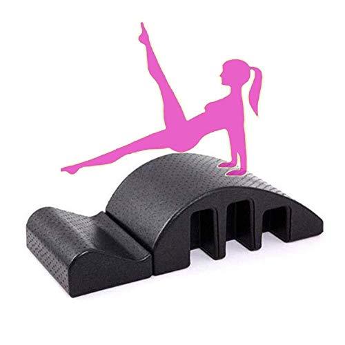 N Gym Massage Bed Pilates Rugleuning Multifunctionele Pilates Ronde Rugleuning Corrector Dom Mountain Ronde Massage Tafel Desktop zwart 97x37x26cm Arc
