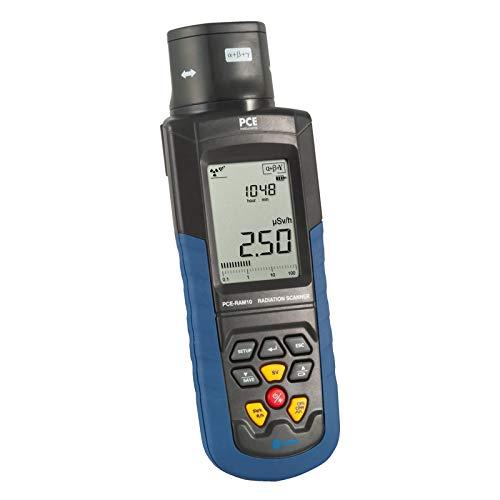 PCE Instruments Strahlenschutzmessgerät PCE-RAM 10 zum Nachweis von Alpha-, beta-, Gamma- und Röntgenstrahlung