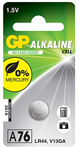 GP Bouton alcalin compatible LR44/V13GA 1,5V