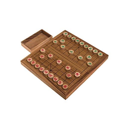 ROMBOL Xiangqi, das chinesische Schachspiel, Schachvariante, Set mit originalen Holzscheiben, Holz