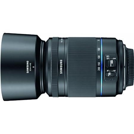 Lens Hood Universal 52mm black for Samsung NX Lens 50-200 mm 4-5.6 ED OIS