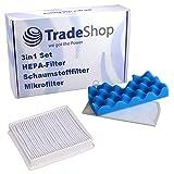 Juego 3 en 1 de filtro de esponja + filtro HEPA + microfiltro para Samsung SC4351 SC4355 SC4357 SC4360 SC4370 SC4390 SC452 SC4520 SC4521 SC4530 SC4535 SC4550