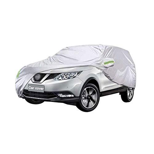 WSJ Auto Abdeckung kompatibel mit Nissan Qashqai SUV Auto Abdeckung dicken Oxford Tuch Sonnenschutz Regen und staubschutz Auto Abdeckung Kleidung (größe: 2013)