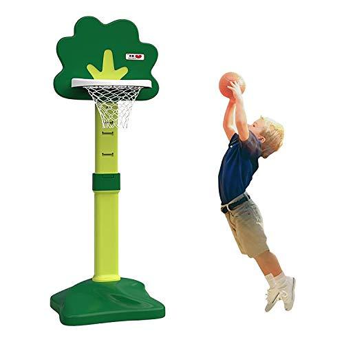 EODPOT Stehender Basketballkorb für Kinder im Innen- und Außenbereich, höhenverstellbares Basketballnetz, fantastisches Geburtstagsgeschenk