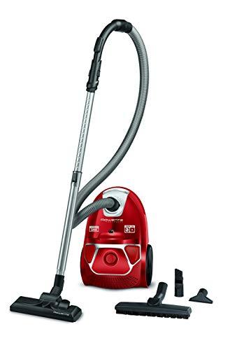 Rowenta RO3953 Compact Power Bodenstaubsauger | Hohe Saugleistung | Staubsauger mit Beutel | Hocheffizienter Filter | 3L Staubbehälter | Geringer Energieverbrauch | 750W