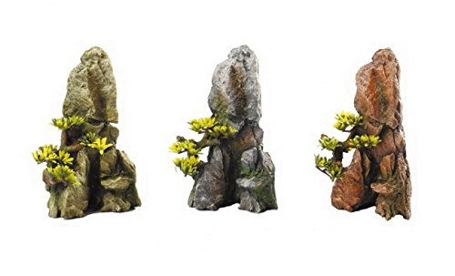 Europet Bernina International Aquarium Decoratie Bonsai-Slate, gesorteerd ontwerp, 17,2 cm