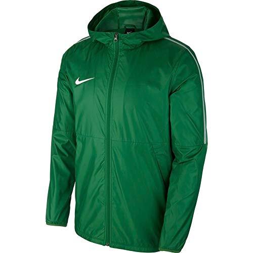 Nike Kinder Dry Park18 Football Jacket, Black/White, XS