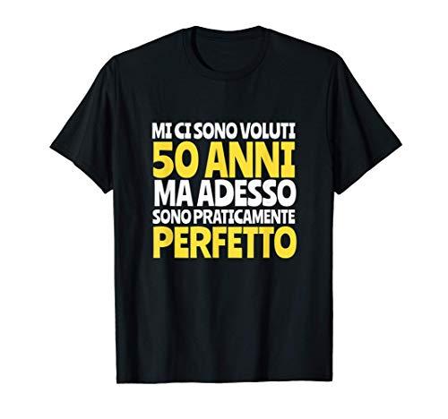 Regalo Divertente Compleanno 1971 Cinquanta 50 Anni Uomo Maglietta