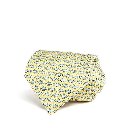 vineyard vines Men s Novelty Necktie, Bonefish Yellow, One Size