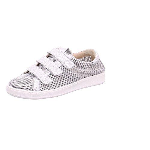 Donna Carolina Damen Sneaker 33434169 Silber 293841