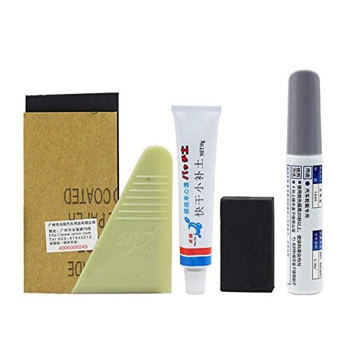 Wheel Repair Kit, Car Touch Up Pen Rim Surface Damage Auto Rim Dent Scratch Care