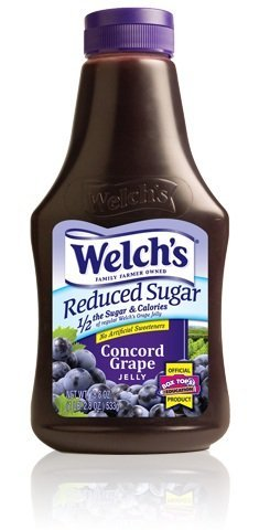 Welch s Reduced Sugar Concord Grape Jelly 1 2 the Sugar (Pack of 2)