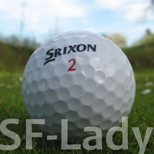 Srixon 50 Soft Feel Lady LAKEBALLS/GOLFBÄLLE - QUALITÄT AAAA/AAA