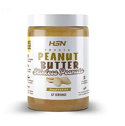 Mantequilla Suave de Cacahuetes Pelados de HSN   Skinless Peanut Butter Smooth   Cremosa y...