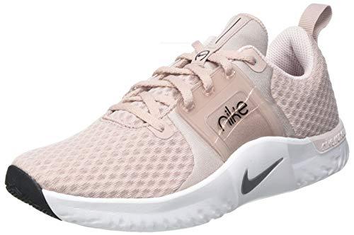 Nike Damen W Renew IN-Season TR 10 Sneaker, Stone Mauve/MTLC Silver-Barely Rose-Black-MTLC Red Bronze-White, 39 EU
