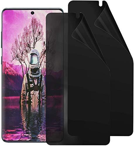 Arrivly 2 Pack Anti-Spähen Panzerfolie für Samsung S20 Ultra Blickschutzfolie Privacy Screen Protector [Anti-Spy] TPU Film Blickschutz Folie Kratzfest Sichtschutzfolie [Kein Glas] (Galaxy S20 Ultra)
