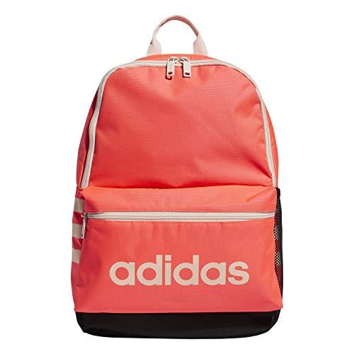 adidas Unisex Kids 978479 Classic 3S Mochila, Unisex niños, Classic 3S Mochila, 978479, Tinte rosa/negro/rosa., Talla única