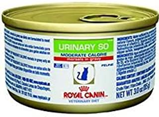 Royal Canin Veterinary Diet Urinary SO Moderate Calorie Morsels in Gravy Canned Cat Food 24/3 oz