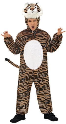 Widmann 9788 M ? Enfants Costume Tigre, Combinaison avec Masque, Env. 113 cm