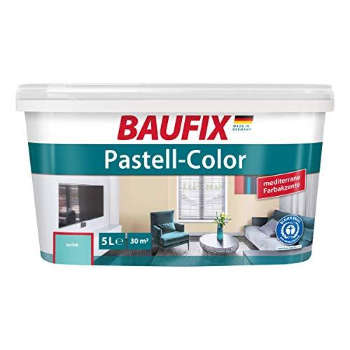 BAUFIX Pastell-Color Wand- & Deckenfarbe Karibik