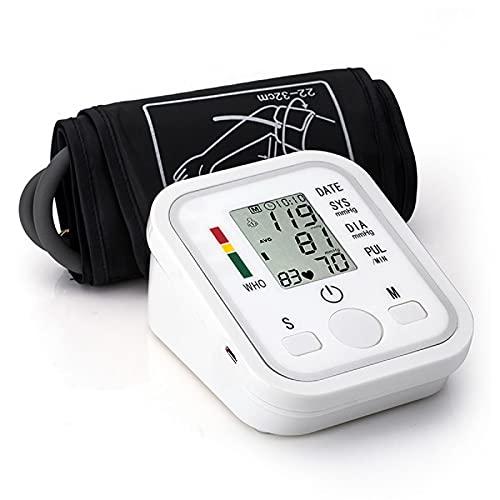 Bovenarm Bloeddrukmeter, Digitale LCD Thuiszorg Automatische hartslagmeter Machine Tonometer voor thuismeting
