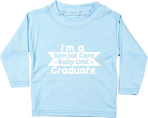 HippoWarehouse I'm a Special Care Baby Unit Graduate Camiseta Unisex bebé Manga Larga