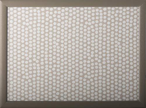Andrew´s Knietablett Laptray mit Kissen Tablett für Laptop Elegant Spot Taupe